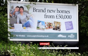 Aspire billboard kidsgrove